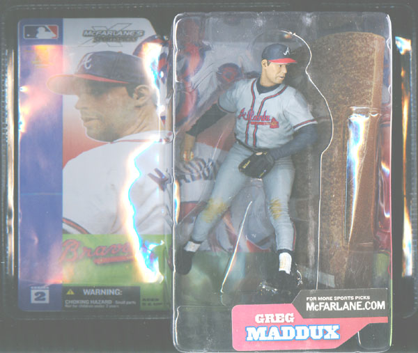 Greg Maddux (gray uniform)