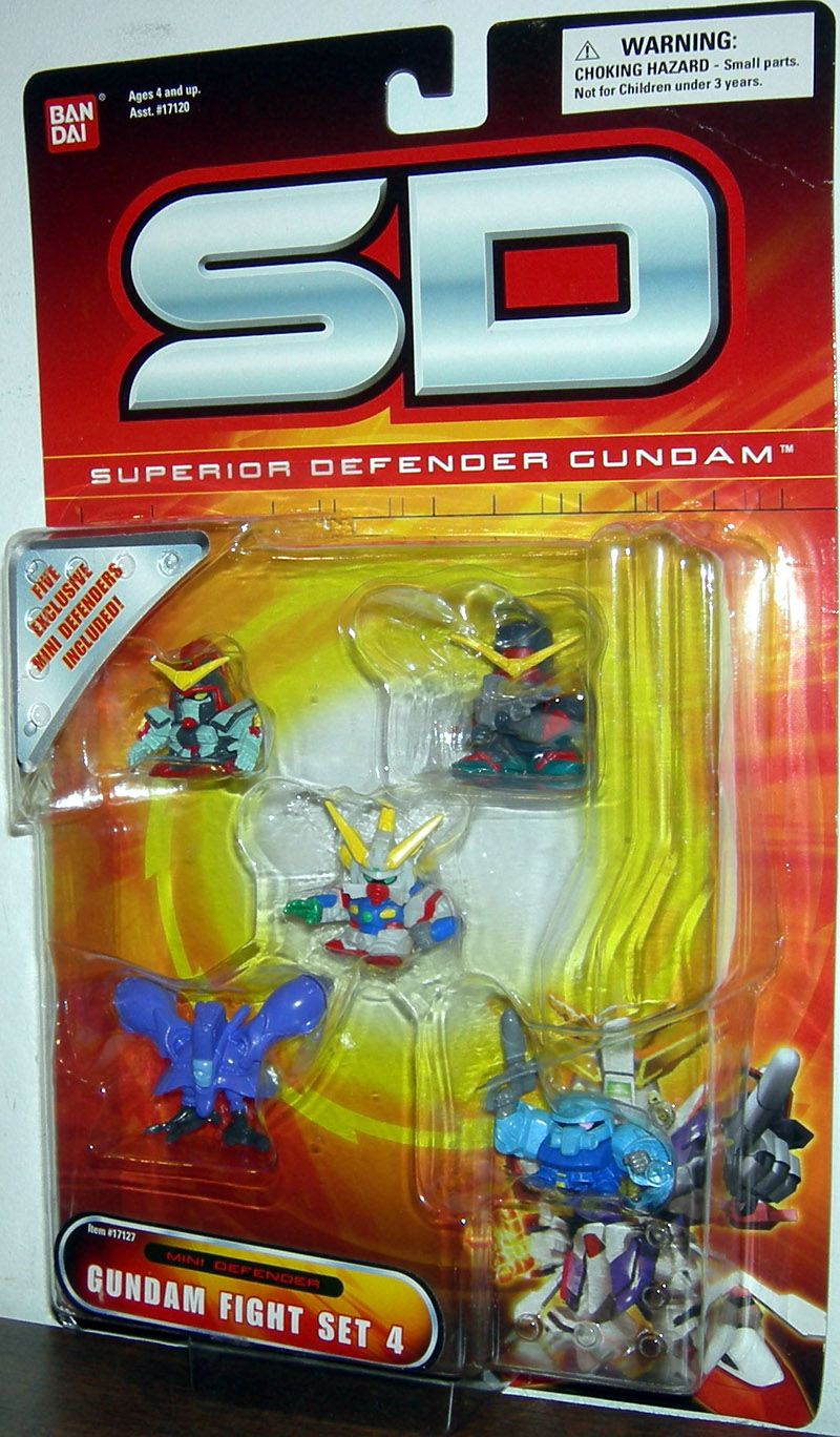 Gundam Fight Set 4