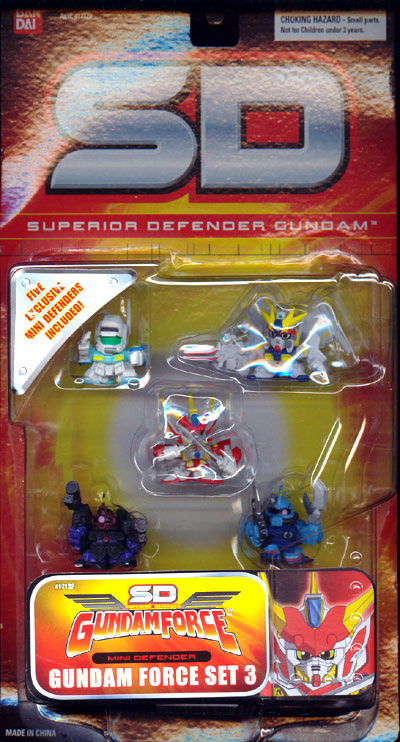 Gundam Force Set 3 (Superior Defender)