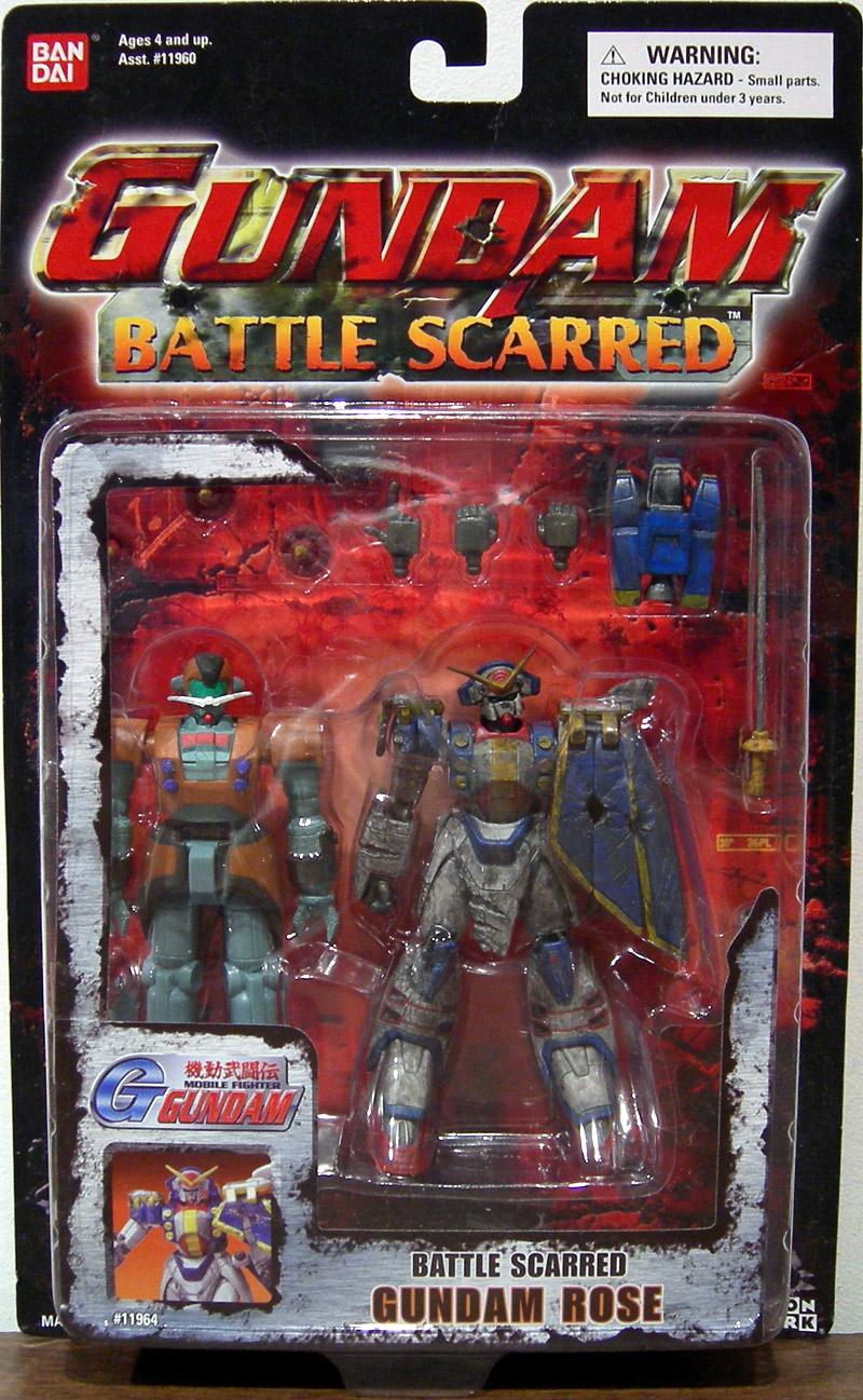 Gundam Action Figures Gundamrose(battlescarred)