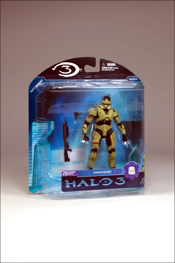 Olive Spartan EOD (Halo 3, series 2)