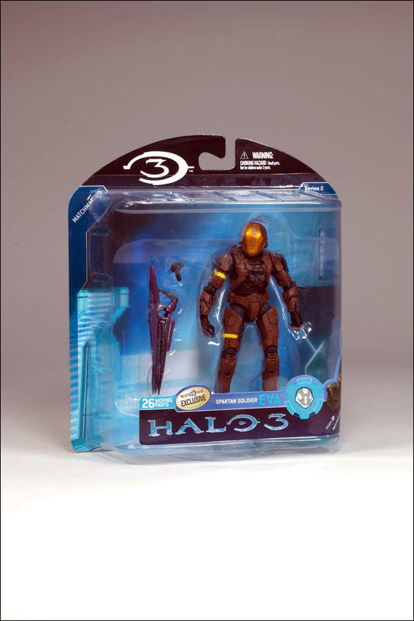 Brown Spartan Soldier EVA (Halo 3, series 2, Toys R Us Exclusive)