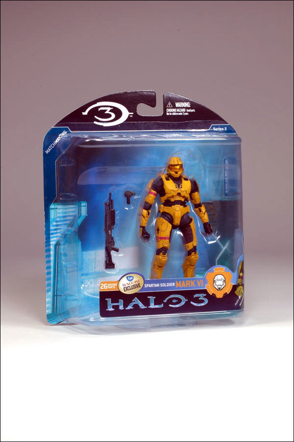 Gold Spartan Mark VI (Halo 3, series 2)