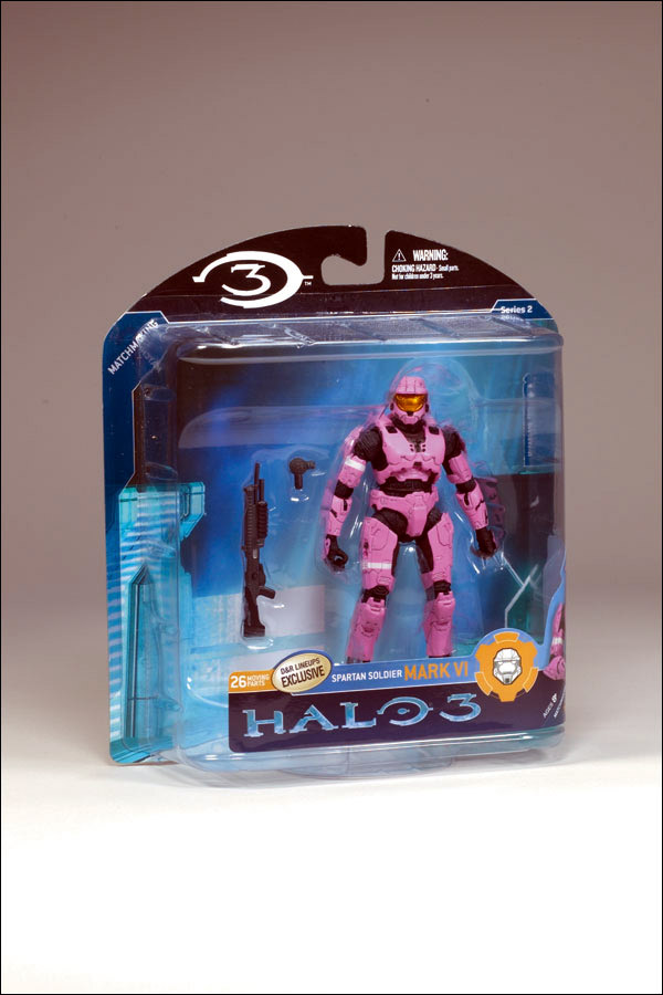 Pink Spartan Mark VI (Halo 3, series 2)