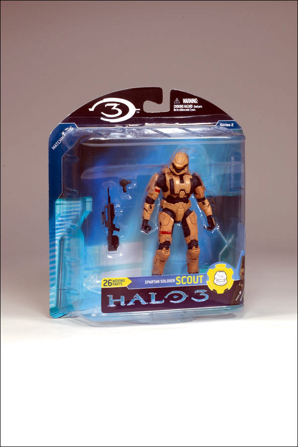 Tan Spartan Scout (Halo 3, series 2)