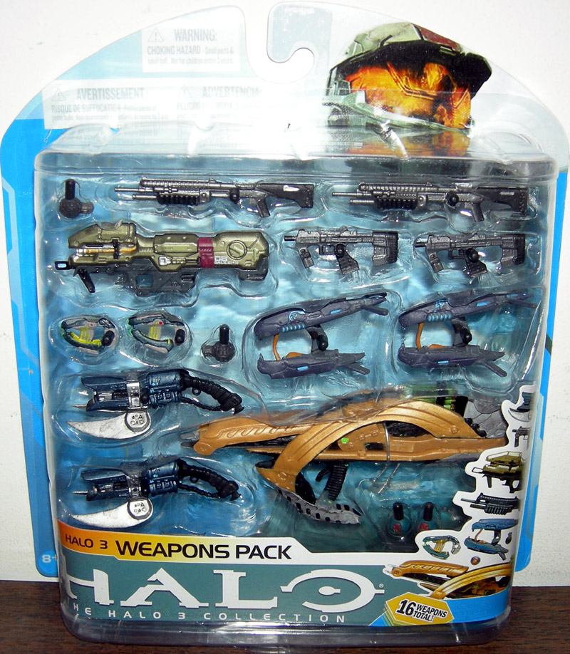 Halo 3 Weapons Pack (series 7)