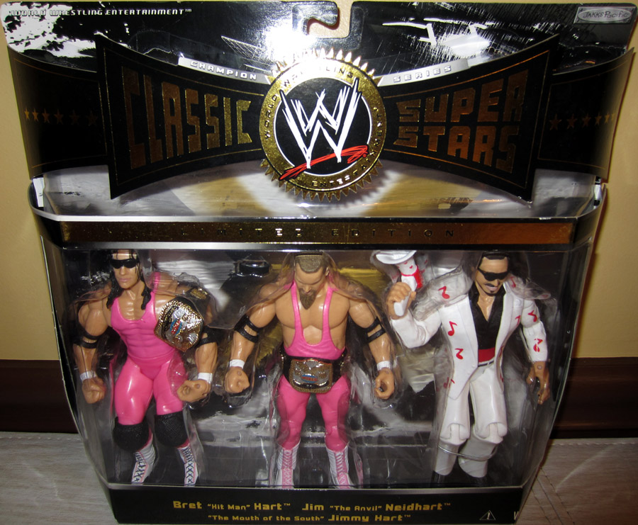 Hart Foundation 3-Pack