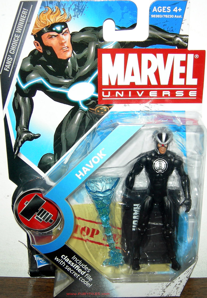 Havok Original Costume Variant (Marvel Universe, series 2, 018)