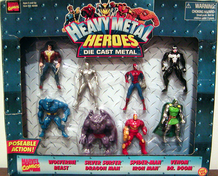 Heavy Metal Heroes 8-Pack