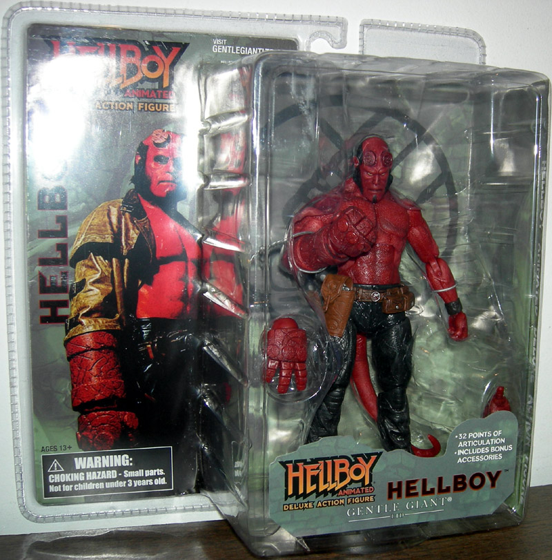 Hellboy (animated, without horns)