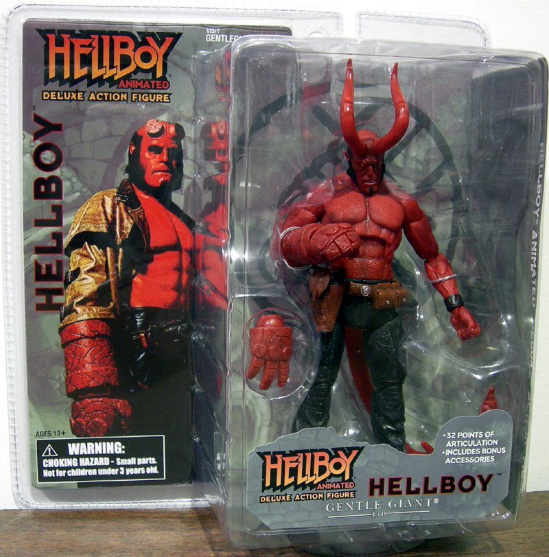 Hellboy (animated, with horns)