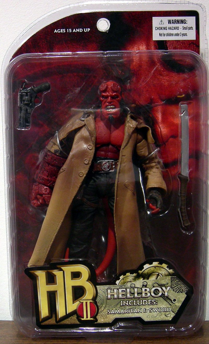 Hellboy II (with Samaritan and sword)