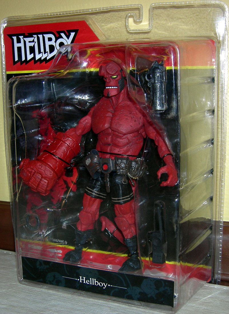 Hellboy Comic: Hellboy (snarling)