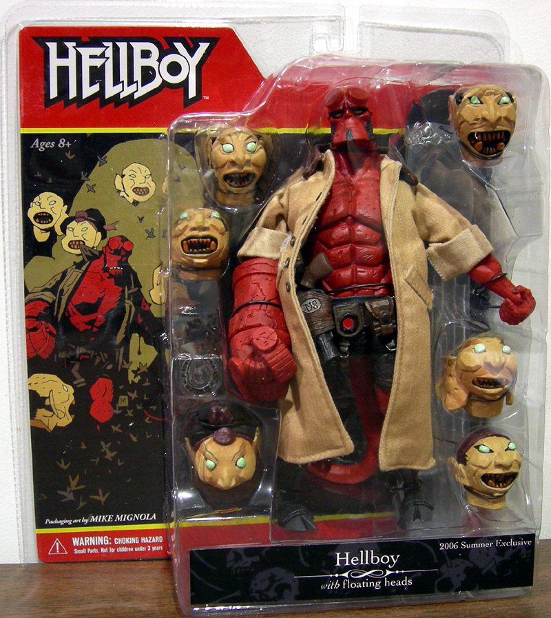 Deluxe Hellboy with Japanese Heads