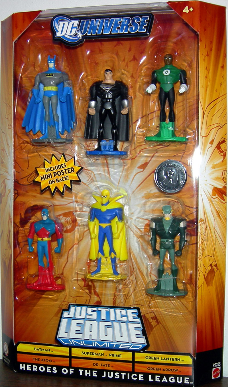 Heroes of the Justice League 6-Pack