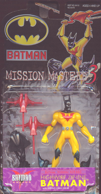 Highwire Zip-Line Batman (Mission Masters 3)