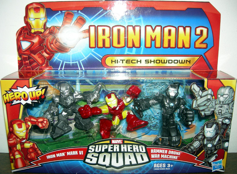 Hi-Tech Showdown (Super Hero Squad)