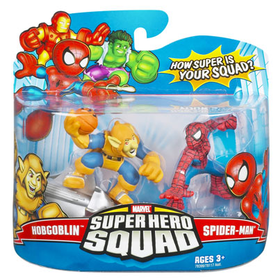 Hobgoblin & Spider-Man (Super Hero Squad)