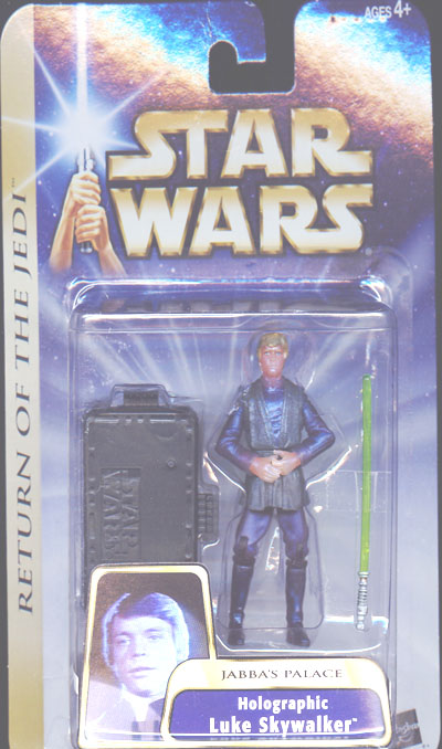 Holographic Luke Skywalker