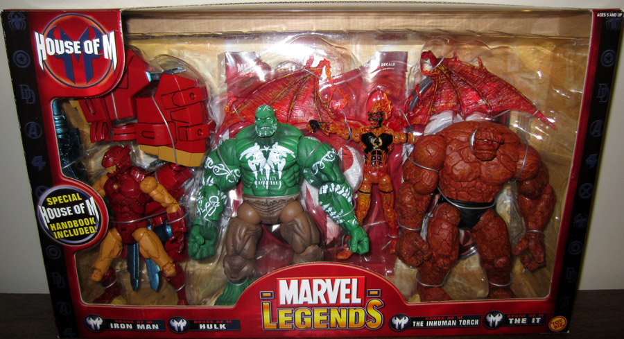 House of M 4-Pack (Marvel Legends)
