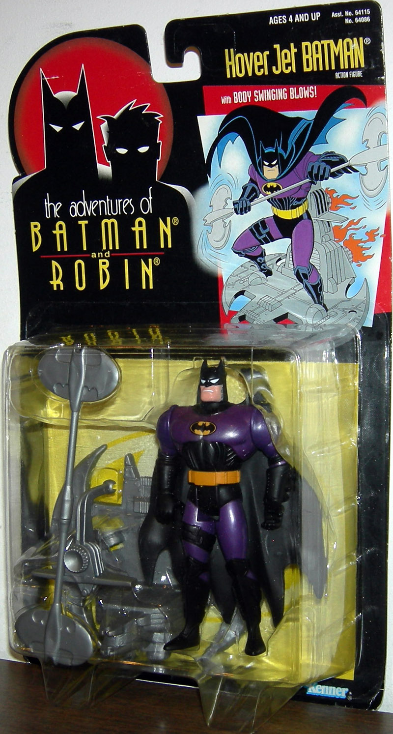 Hover Jet Batman (the adventures of Batman and Robin)