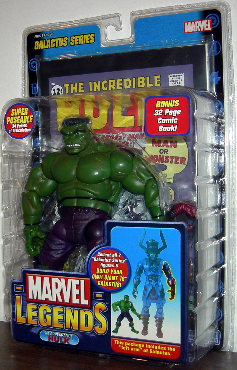 1st Appearance Hulk (Marvel Legends, Galactus Series)