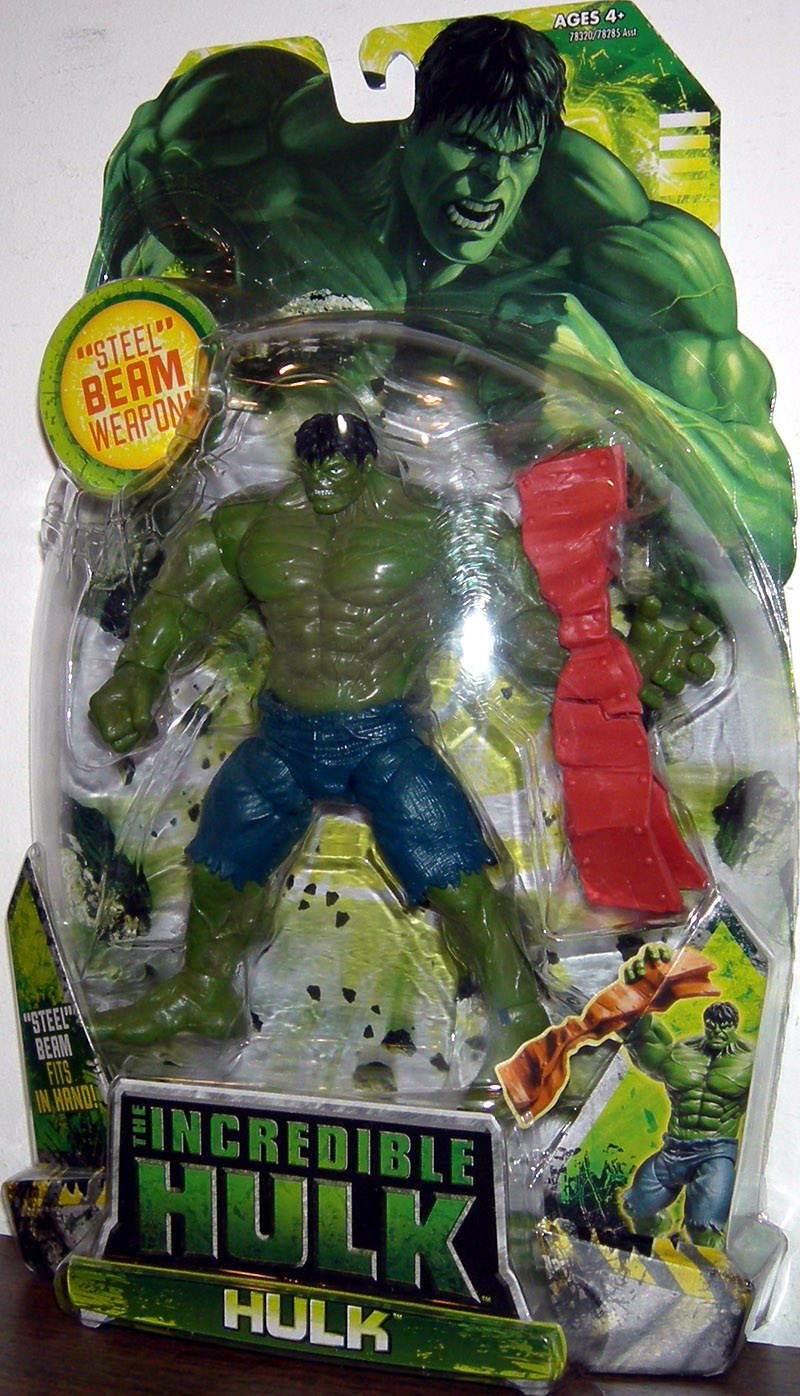 Hulk (with steel beam weapon)