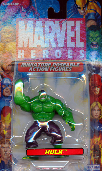 Hulk (Miniature Poseable Action Figure)