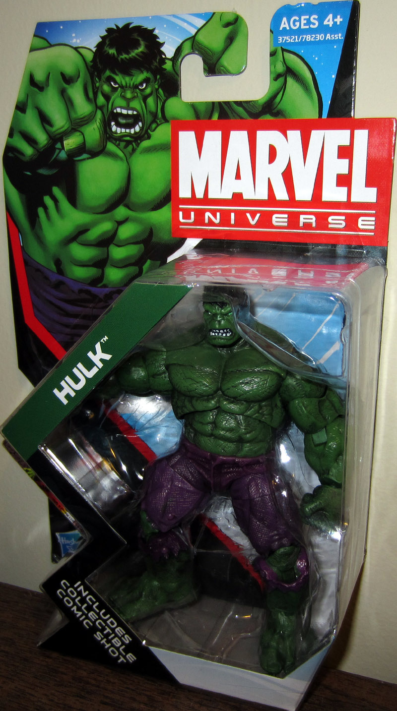 Hulk (Marvel Universe, series 4, 009)