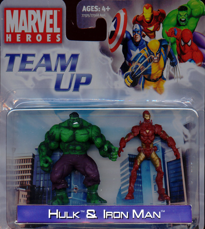Hulk & Iron Man (Team Up)