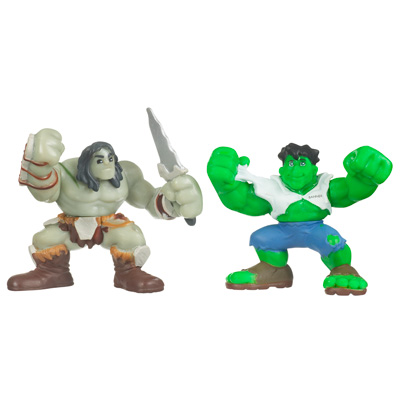 Hulk & Son of Hulk (Super Hero Squad)