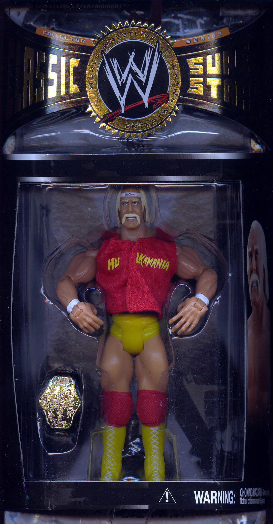 Hulk Hogan (series 8 with 1985 WWF Championship Belt)