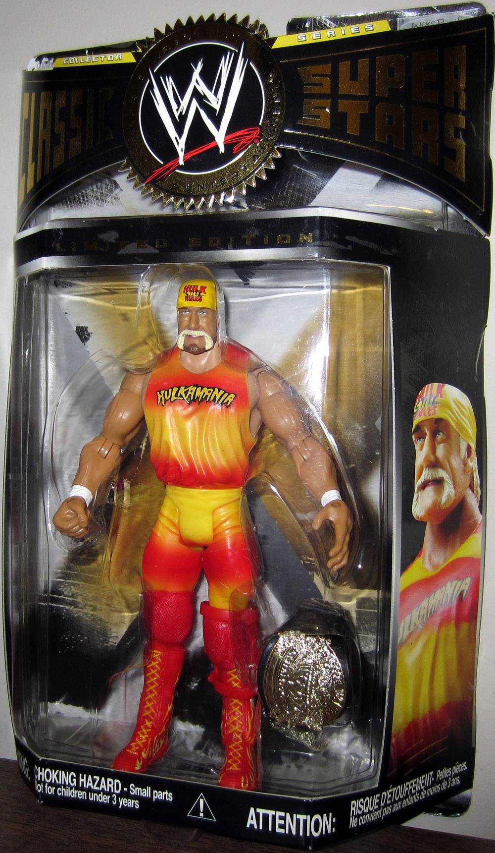Hulk Hogan (Limited Edition, Hulkamania outfit)