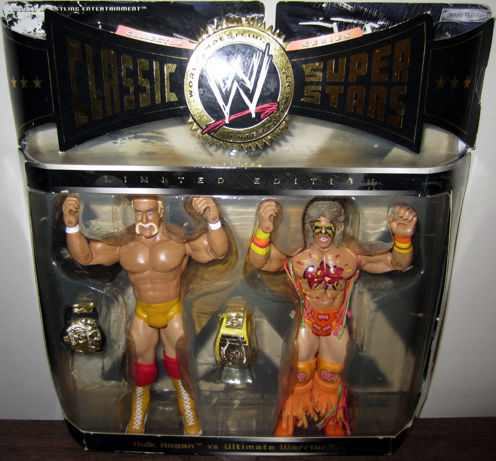 Hulk Hogan vs. Ultimate Warrior