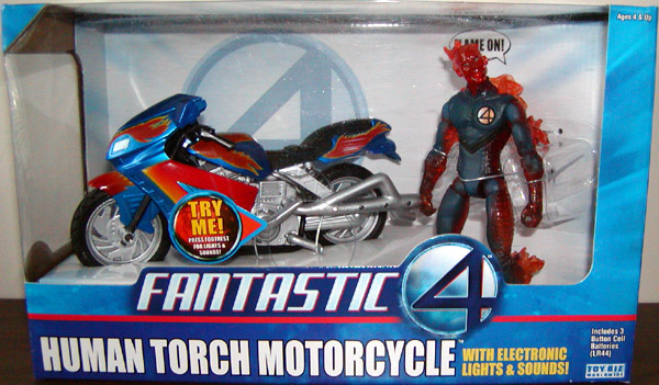 Human Torch Motorcycle