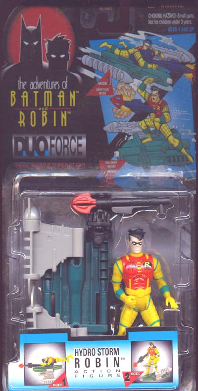 Hydro Storm Robin (the adventures of Batman and Robin, DuoForce)