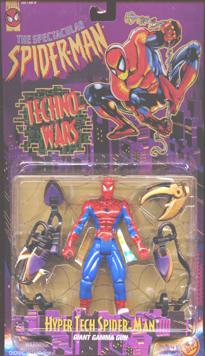 Hyper Tech Spider-Man (The Spectacular Spider-Man, Techno-Wars)