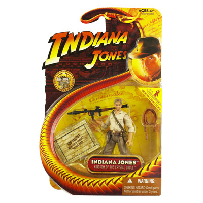 Indiana Jones with missile launcher and whip