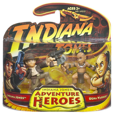Indiana Jones vs. Ugha Warrior (Adventure Heroes)