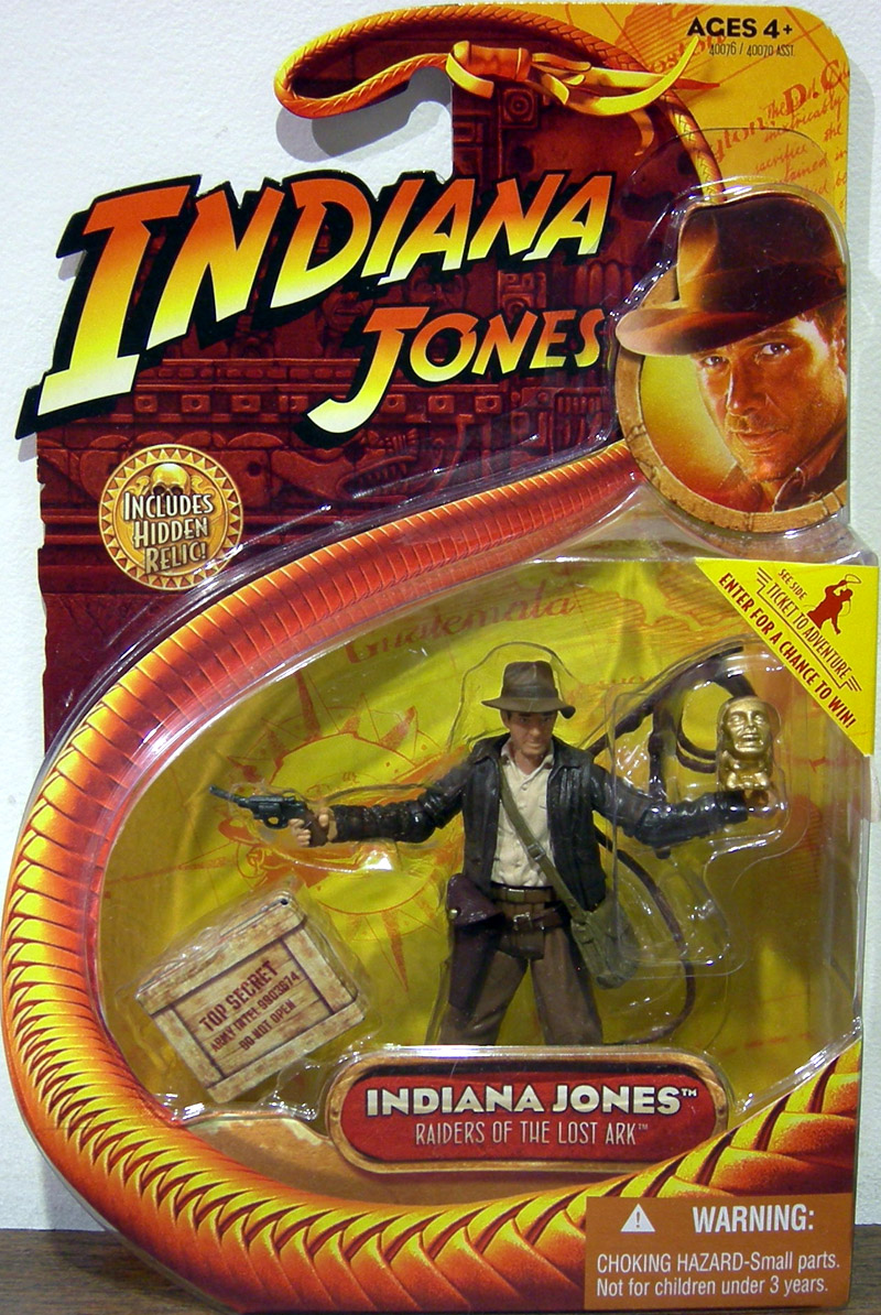Indiana Jones with Idol (Raiders of the Lost Ark)