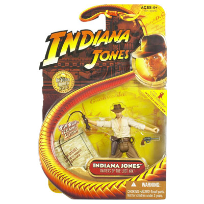 Indiana Jones with whip cracking action