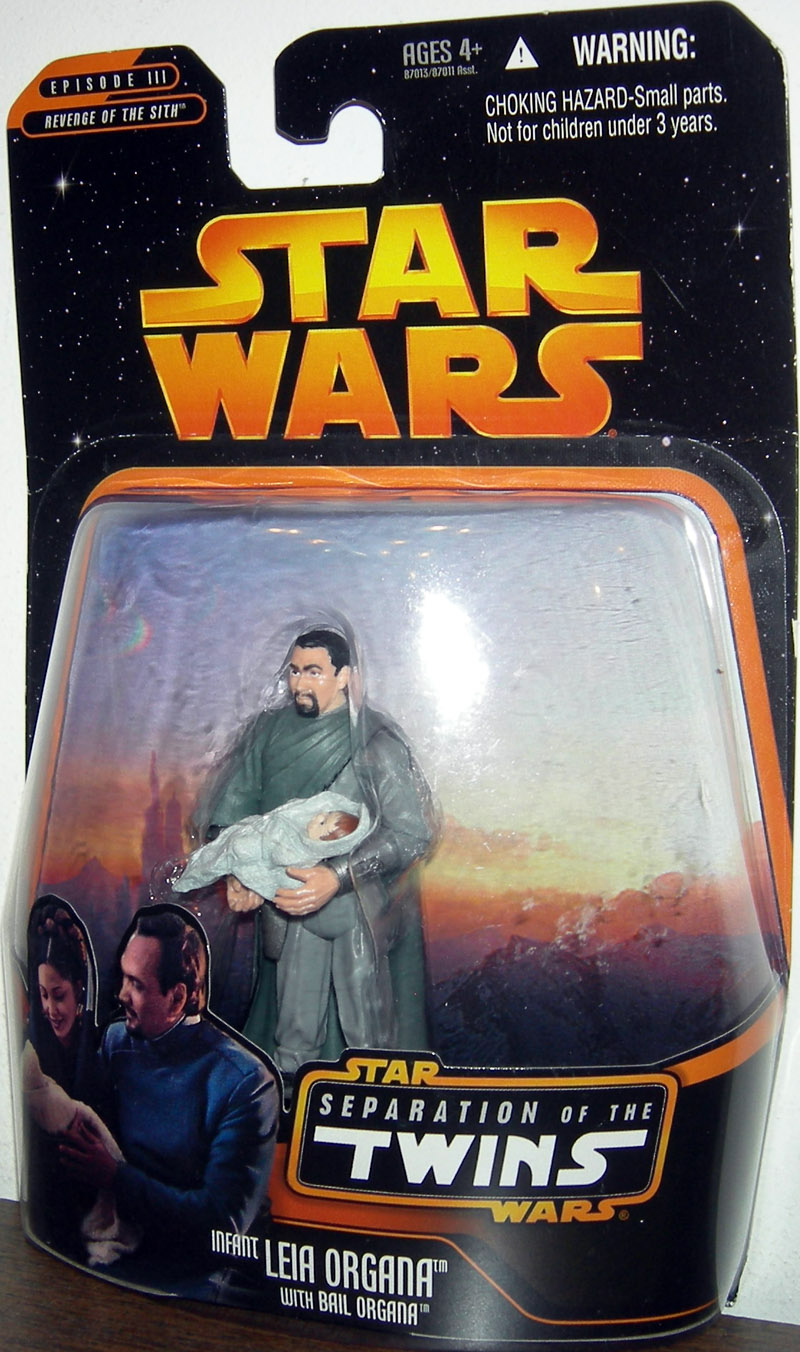 Infant Leia Organa with Bail Organa