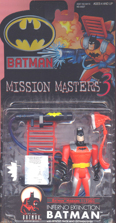Inferno Extinction Batman (Mission Masters 3)