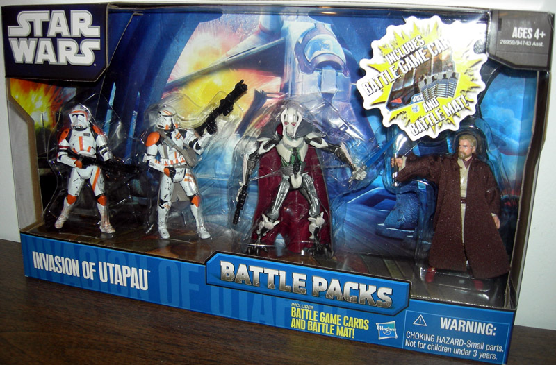 Invasion of Utapau 4-Pack
