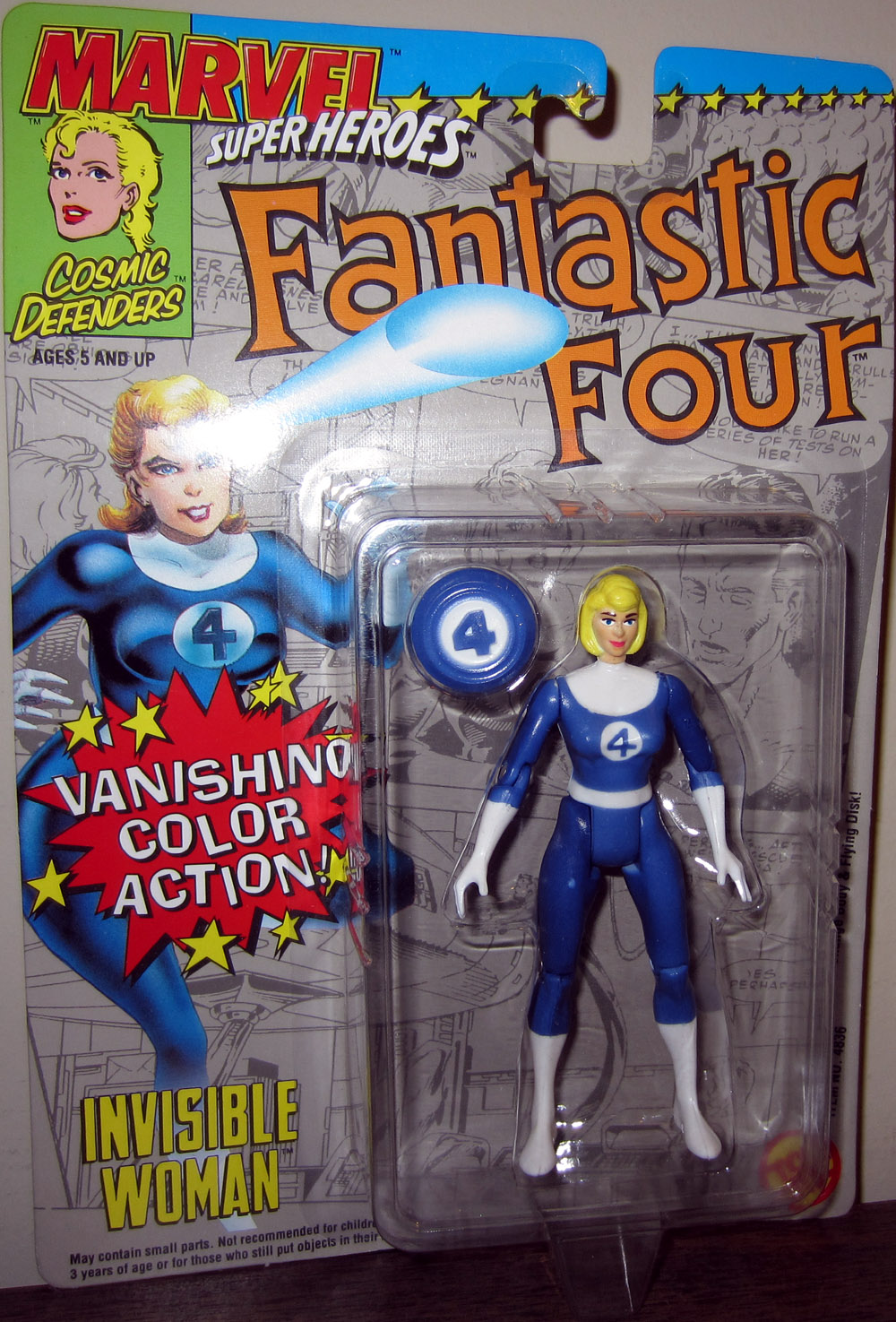 Invisible Woman (Vanishing Color Action)