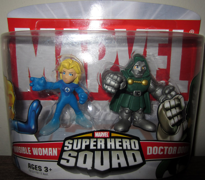 Invisible Woman & Doctor Doom (Super Hero Squad)