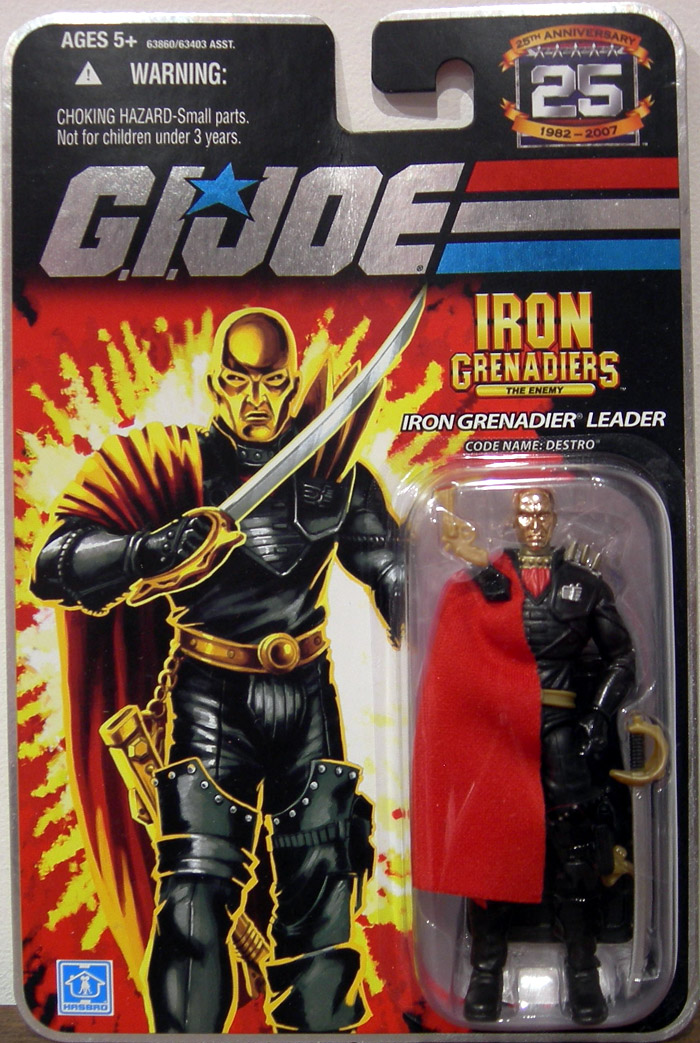 Iron Grenadier Leader (Code Name: Destro)