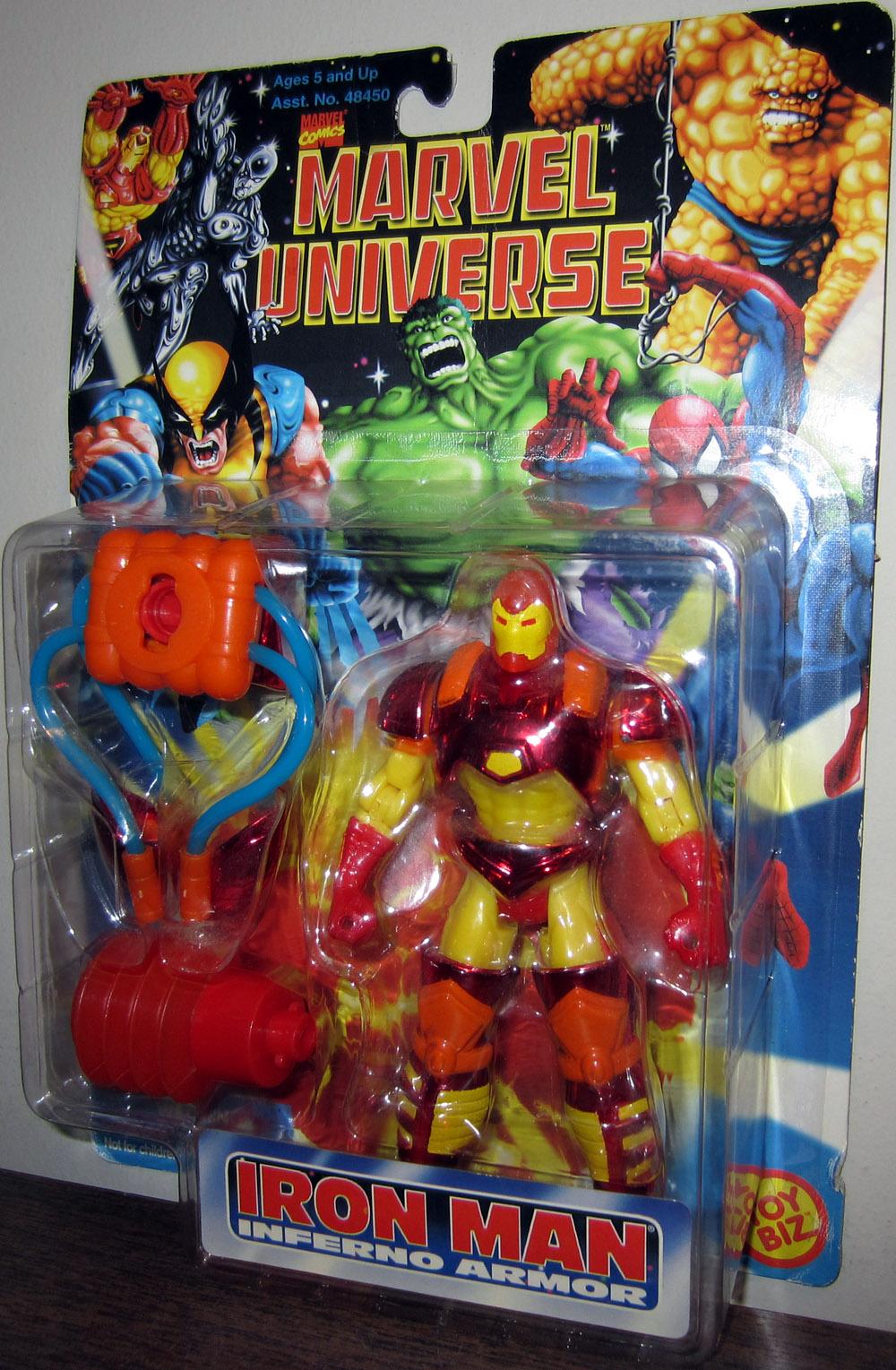 Iron Man Inferno Armor Figure