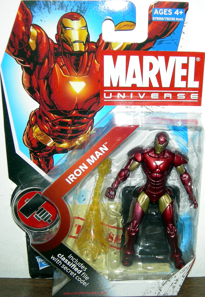 Iron Man (Marvel Universe, series 2, 007)