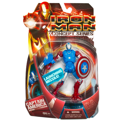 Iron Man (Captain America Armor)